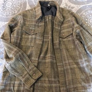 Boys Flannel Size Medium